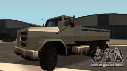 Flatbed Fixed for GTA San Andreas
