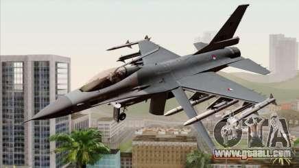 F-16AM Fighting Falcon for GTA San Andreas