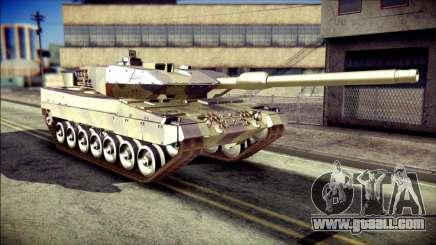 Leopard 2A6 for GTA San Andreas