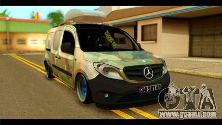 Mercedes-Benz Citan Stance for GTA San Andreas