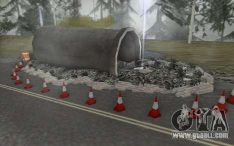 Road repair for GTA San Andreas fifth screenshot