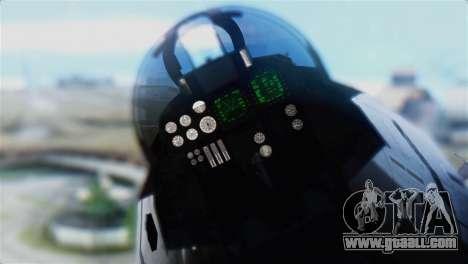F-14D Super Tomcat Polish Navy for GTA San Andreas back view