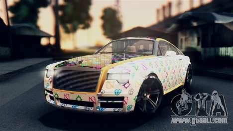 GTA 5 Enus Windsor IVF for GTA San Andreas side view