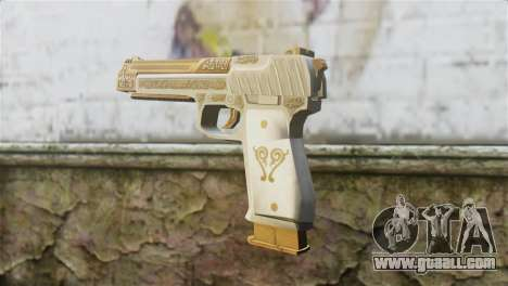 Desert Eagle Skin from GTA 5 for GTA San Andreas second screenshot