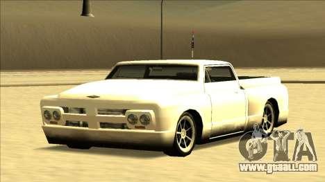 Slamvan Final for GTA San Andreas upper view