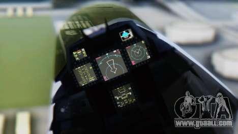 F-15DJ (E) JASDF Aggressor 32-8081 for GTA San Andreas right view