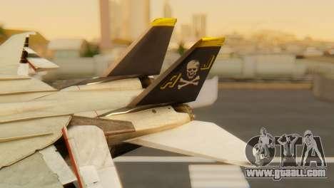 F-14A Tomcat VF-202 Superheats for GTA San Andreas back left view