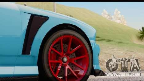 GTA 5 Bravado Buffalo S Sprunk for GTA San Andreas inner view