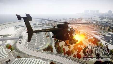 AH-6 Little Bird for GTA 4 left view