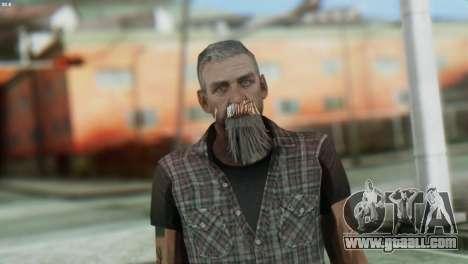 Biker Skin from GTA 5 for GTA San Andreas third screenshot