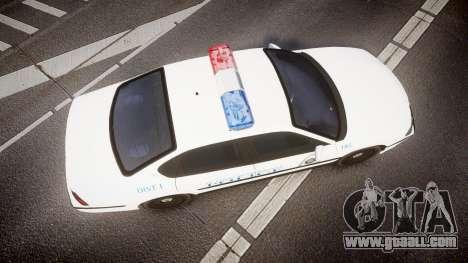 Chevrolet Impala Metropolitan Police [ELS] Pat for GTA 4 right view
