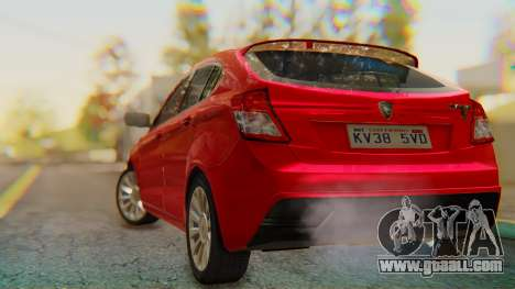 Proton Suprima S for GTA San Andreas left view