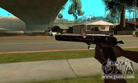Leopard Deagle for GTA San Andreas second screenshot