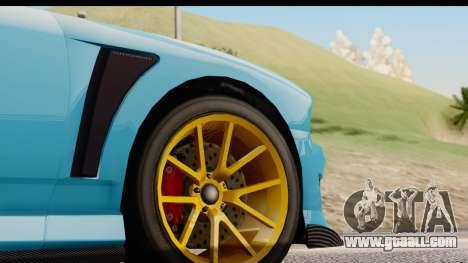 GTA 5 Bravado Buffalo S Sprunk for GTA San Andreas side view