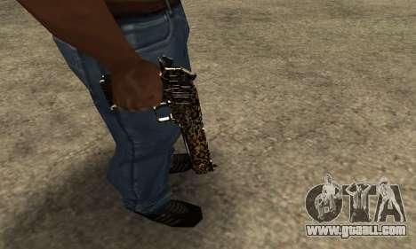 Leopard Deagle for GTA San Andreas