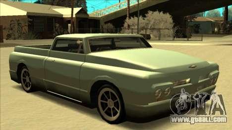 Slamvan Final for GTA San Andreas engine
