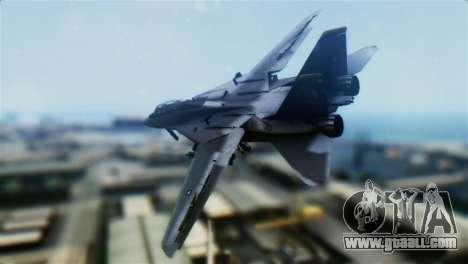 F-14D Super Tomcat Halloween Pumpkin for GTA San Andreas left view