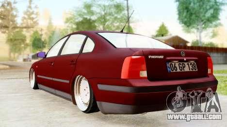 Volkswagen Passat B5 1.8 ADR for GTA San Andreas left view