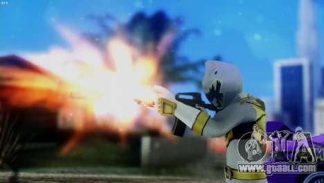 Power Rangers Skin 5 for GTA San Andreas third screenshot