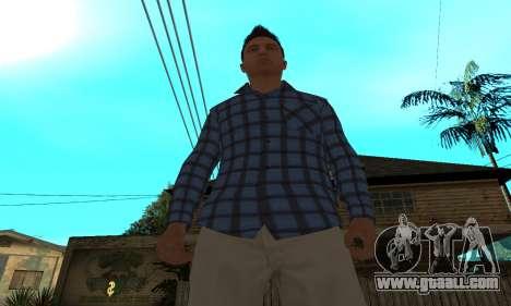 Skin Claude [HD] for GTA San Andreas forth screenshot