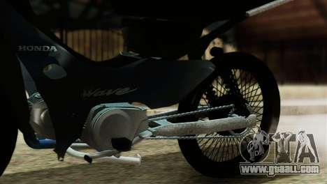 Honda Wave Stunt for GTA San Andreas back view
