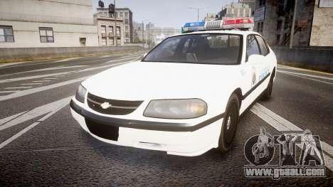 Chevrolet Impala Metropolitan Police [ELS] Pat for GTA 4