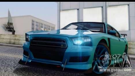 GTA 5 Bravado Buffalo S Sprunk for GTA San Andreas back left view