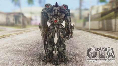 Shockwave Skin from Transformers v1 for GTA San Andreas third screenshot