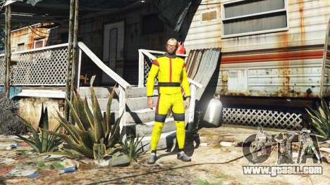 The karate suit for GTA 5