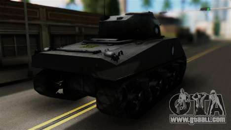 M4 Sherman Gawai Special for GTA San Andreas left view