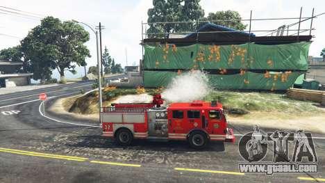 GTA 5 Work in the fire service v1.0-RC1 second screenshot