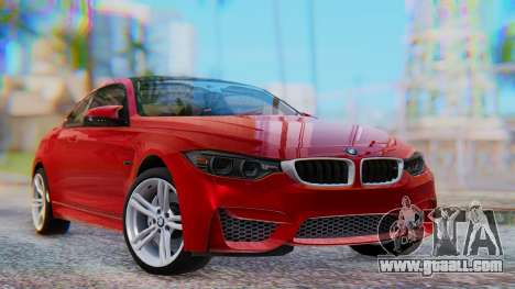 BMW M4 2015 HQLM for GTA San Andreas
