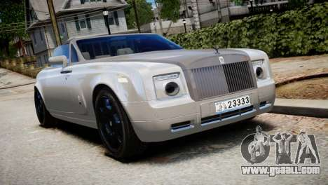 Rolls-Royce Phantom Coupe 2009 for GTA 4
