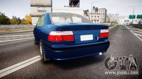 Mazda 626 for GTA 4 back left view
