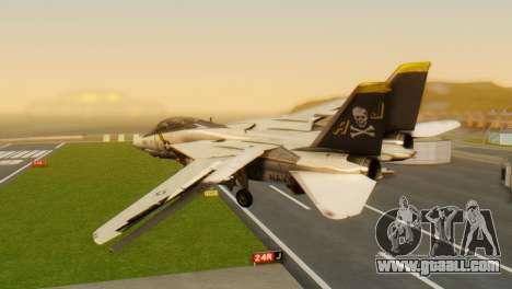 F-14A Tomcat VF-202 Superheats for GTA San Andreas left view