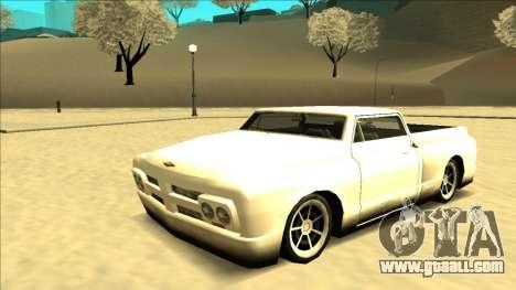 Slamvan Final for GTA San Andreas