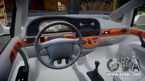 Daewoo Tacuma 2001 for GTA 4 back view