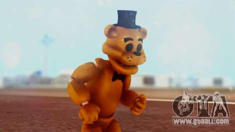 Golden Freddy v2 for GTA San Andreas