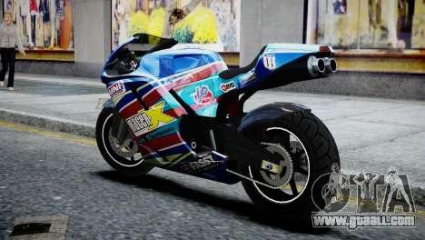 Bike Bati 2 HD Skin 2 for GTA 4 left view