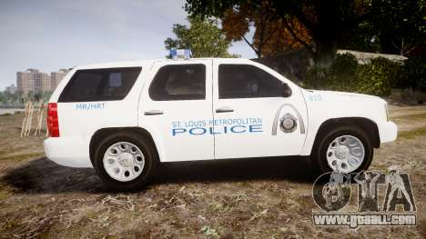 Chevrolet Tahoe Metropolitan Police [ELS] for GTA 4 left view