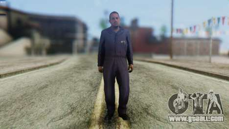 Uborshik Skin from GTA 5 for GTA San Andreas