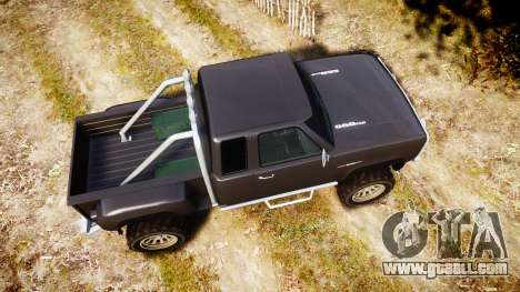 Vapid Bobcat Hillbilly for GTA 4 right view