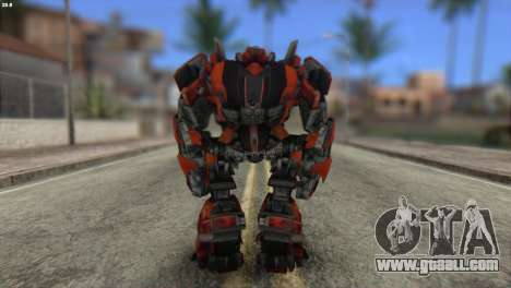 Autobot Titan Skin from Transformers for GTA San Andreas second screenshot