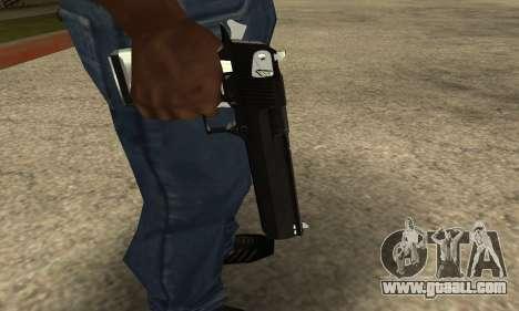 Cool Black Deagle for GTA San Andreas