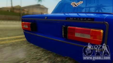 VAZ 2106 Chameleon for GTA San Andreas back view