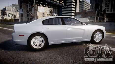 Dodge Charger Traffic Patrol Unit [ELS] bl for GTA 4 left view