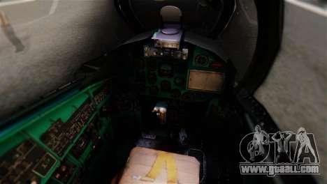Mil Mi-24V Czech Air Force Tigermeet for GTA San Andreas back view