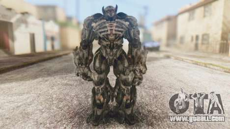 Shockwave Skin from Transformers v1 for GTA San Andreas second screenshot