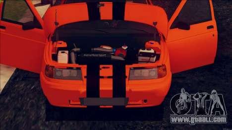 VAZ 2112 Turbo for GTA San Andreas back view