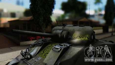 M4 Sherman Gawai Special for GTA San Andreas right view